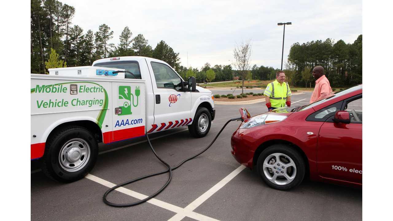 AAA Charging Trucks Seldom See Action