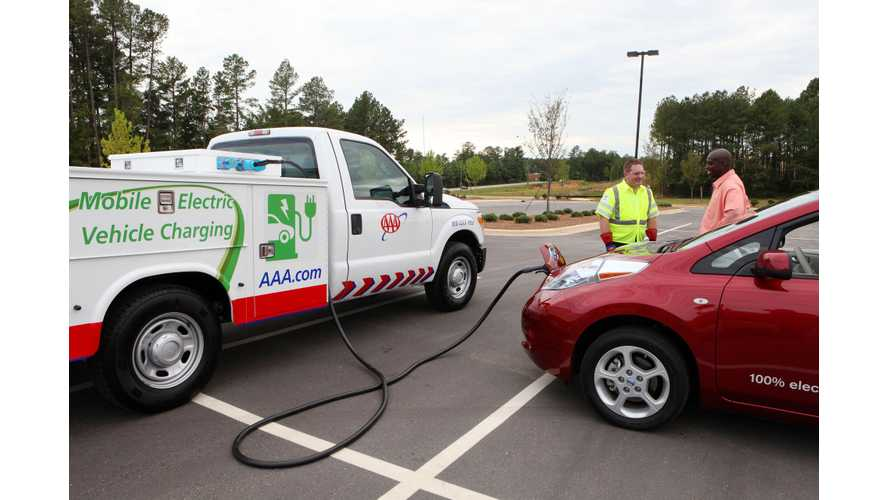 AAA Charging Trucks Seldom See Action
