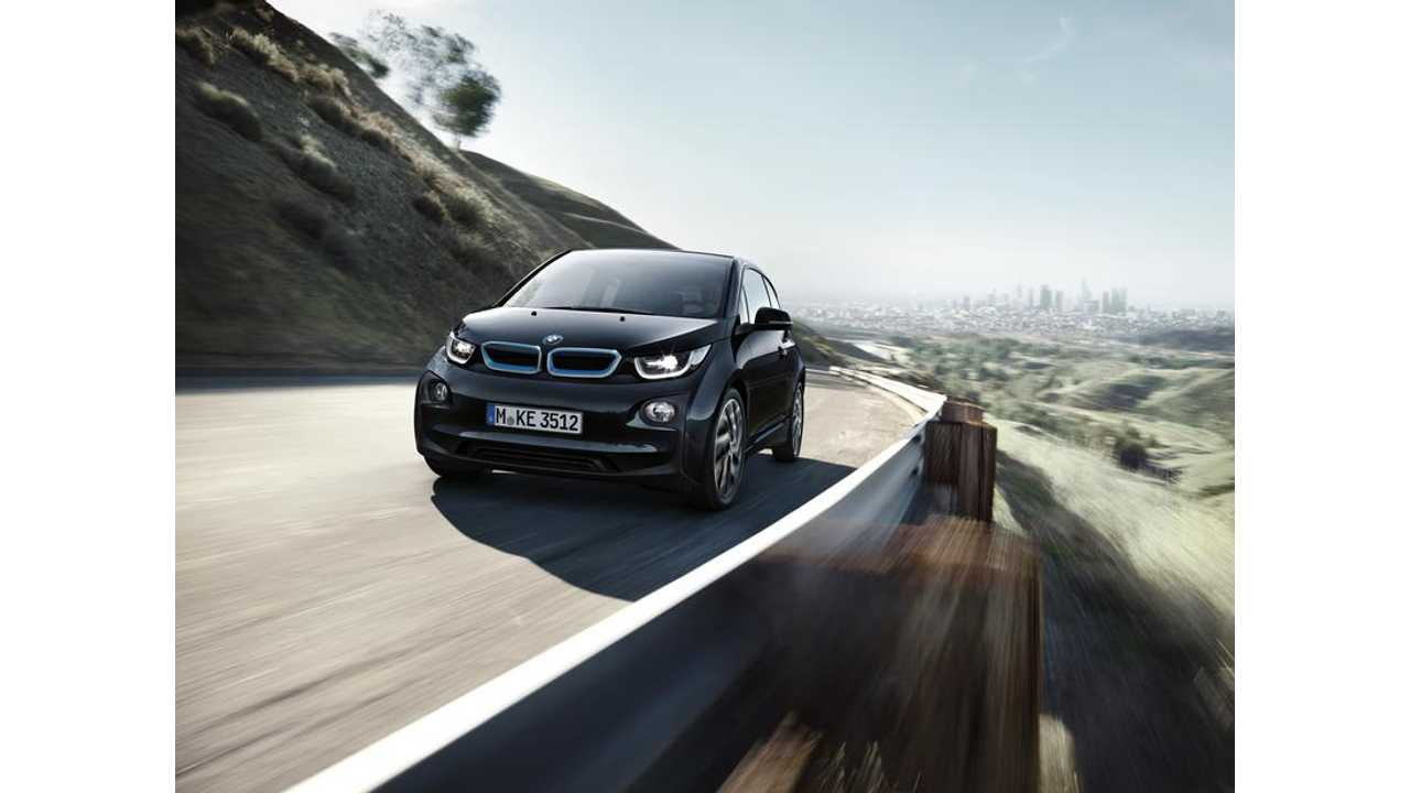 Visually The 2017 BMW i3 (shown here in black) Is Unchanged