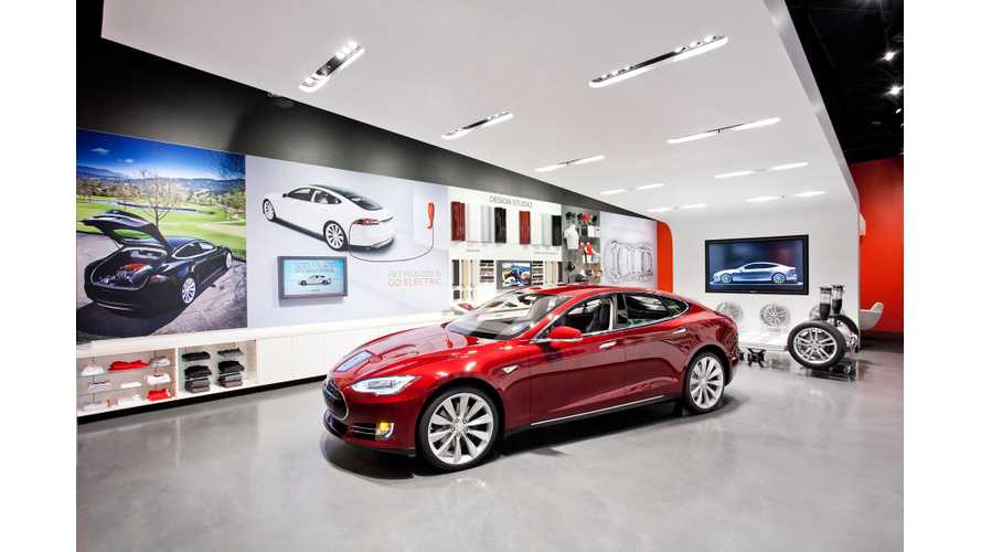 Tesla Opens First Showroom In Michigan