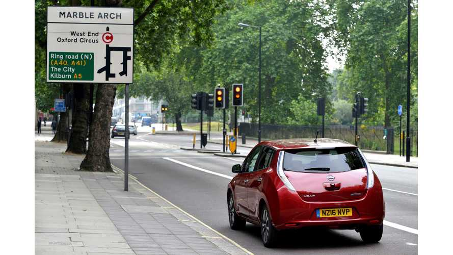 20 Nissan LEAFs, 30 BYD e6s Join Uber London