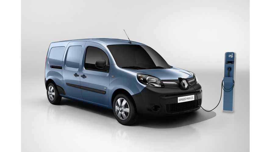 New Renault KANGOO Z.E. To Add 50% More Range - 124 Miles (200 km) In Real Conditions