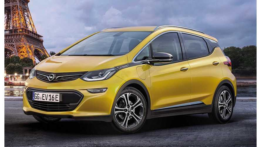 Opel Ampera-e To Debut In Paris, Drag Races Competitors Today - Video