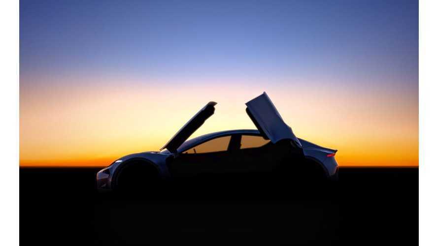 Henrik Fisker Teases New Butterfly Door Electric Car