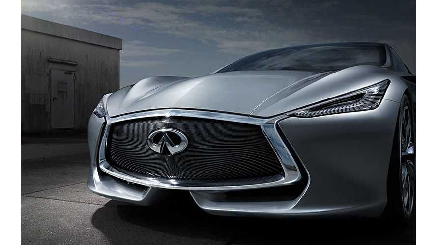 Infiniti Considers Launching Its First-Ever Electric Car In China