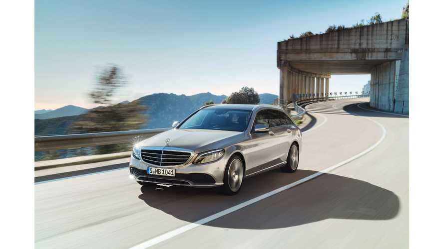 New Mercedes-Benz C-Class PHEV To Go 31 Miles On Electric Power