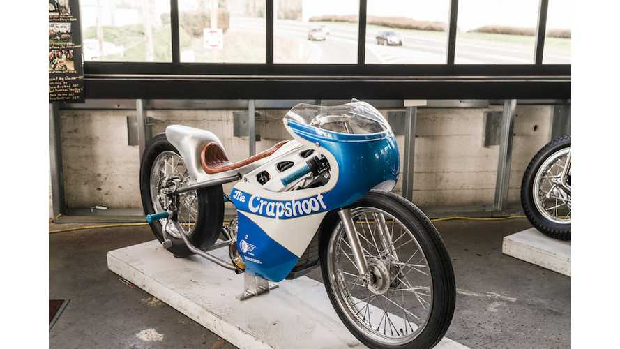 "Alta Unveils Custom ""Crapshoot"" Electric Drag Bike"