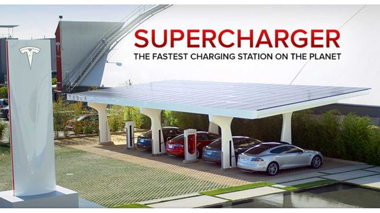 Ranking Tesla Superchargers Per Capita, Country & State