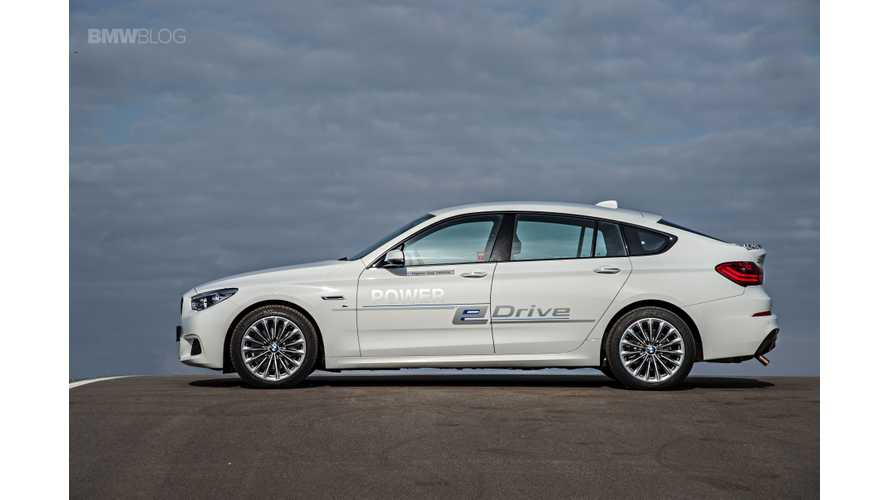 BMW Commits To Offering Plug-In Hybrid Versions Of All Core-Brand Models