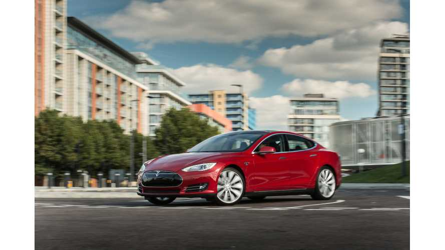 Tesla Model S 60 kWh Named Among Car And Driver's 10 Best Cars Of 2015