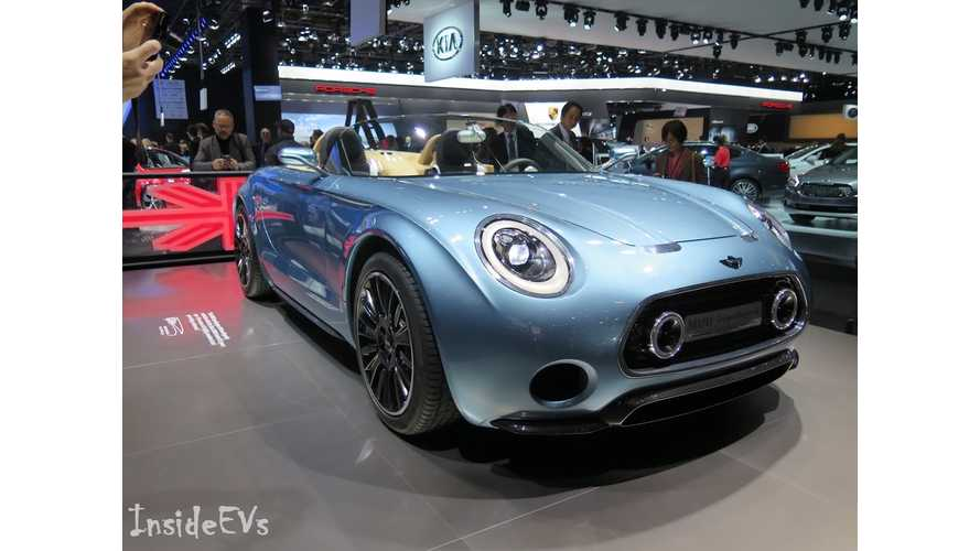 Mini Superleggera - Live Images From 2015 NAIAS