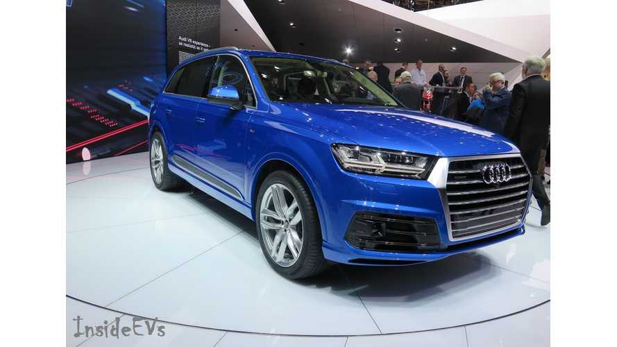 Audi Q7 World Debut, e-Tron Quattro Q7 Coming This Year Too