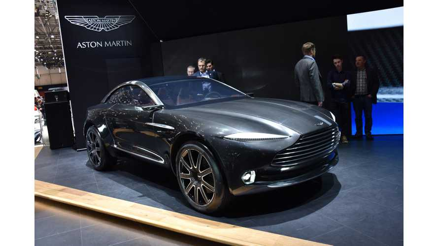 "Aston Martin CEO - ""I See In Our Future Obviously V12s, V8s and Probably Battery-Electric Cars"""