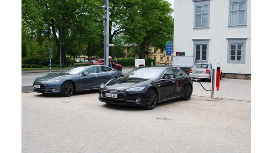Tesla Sells 60 kW Superchargers To Swedish Business Owner