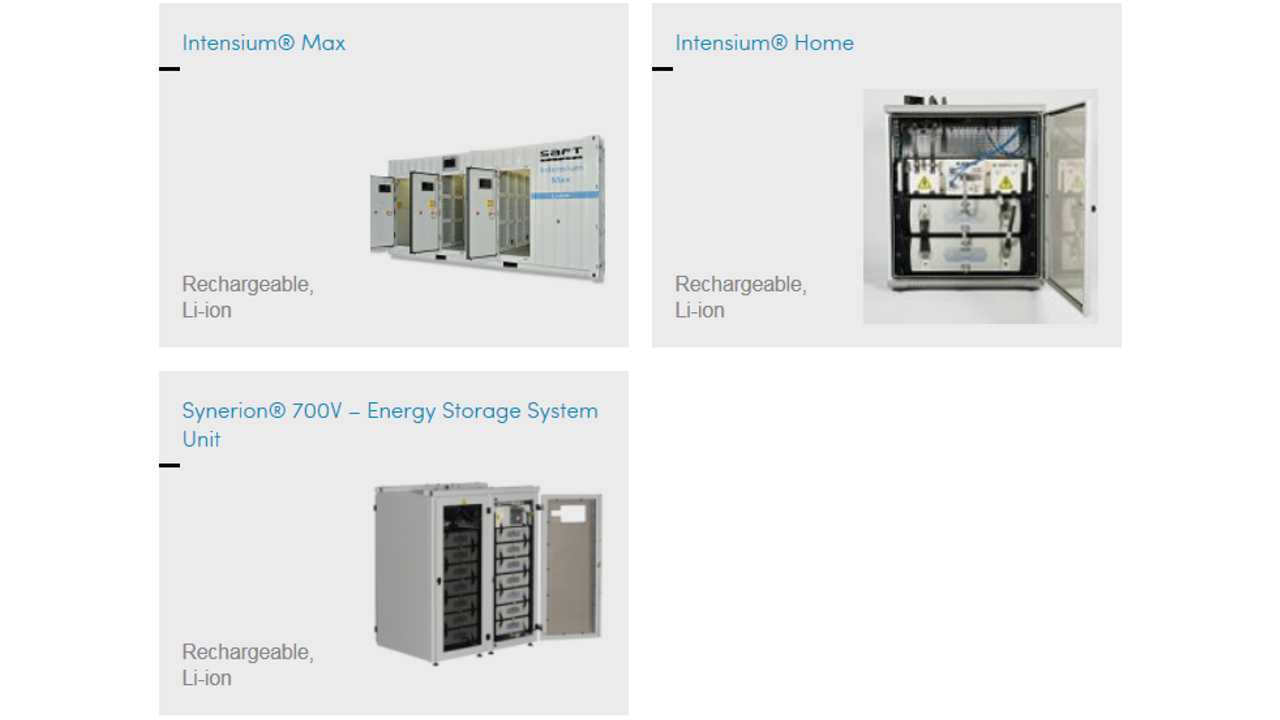 Saft Unveils 10 kWh Home Battery Energy Storage System