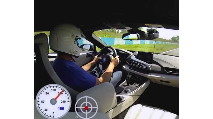 DRIVE Magazine Test BMW i8 On Road & Track - Video