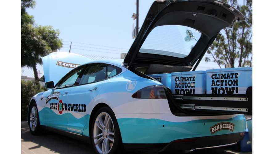"Ben & Jerry's Introduces Tesla-Inspired ""Save Our Swirled"" Ice Cream"