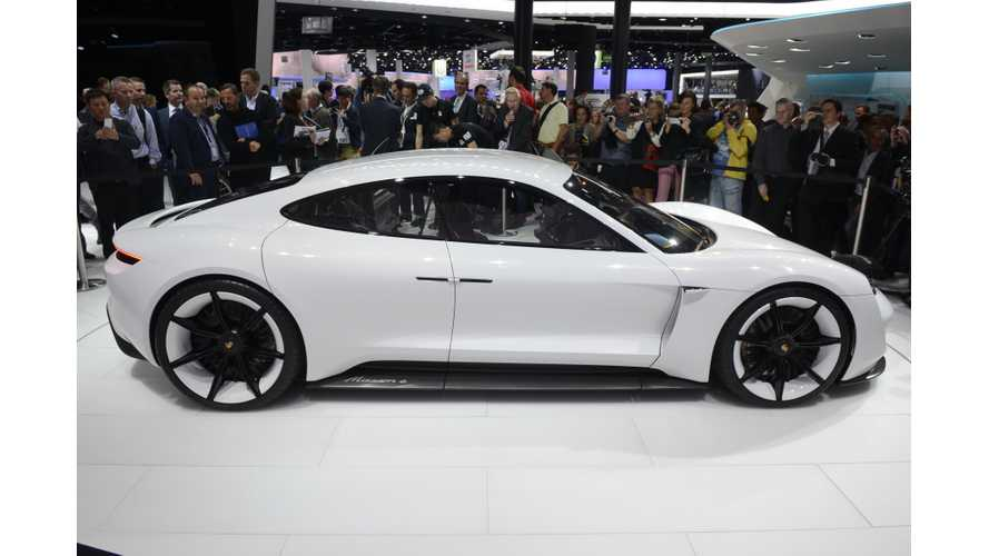 Porsche Mission E Live Photos & Videos From Frankfurt