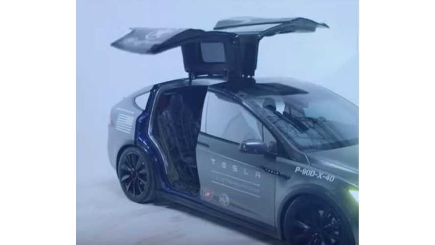 Veteran's Day Tesla Model X Video