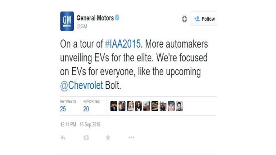 General Motors' Dan Ammann Gets Itchy Twitter Fingers Over Electric Cars