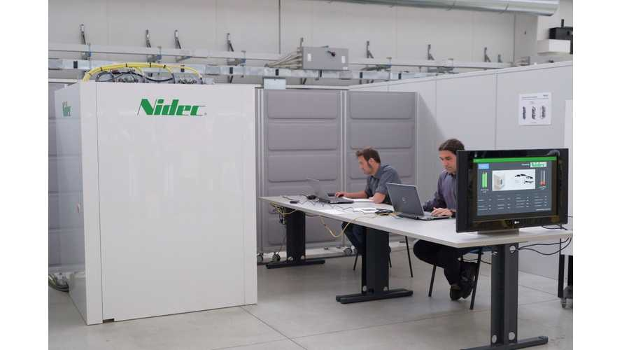 Nidec Unveils Up To 320 kW Ultra Fast Charger