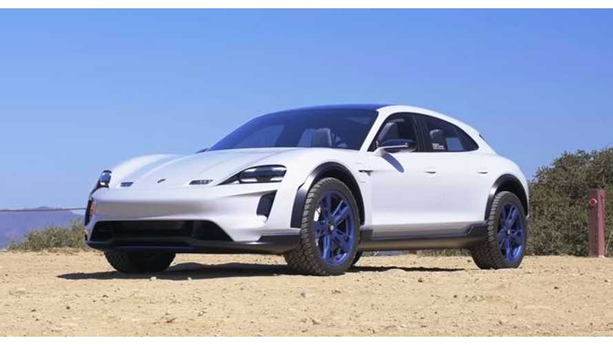 Watch World's First Drive Of Porsche Mission E Cross Turismo