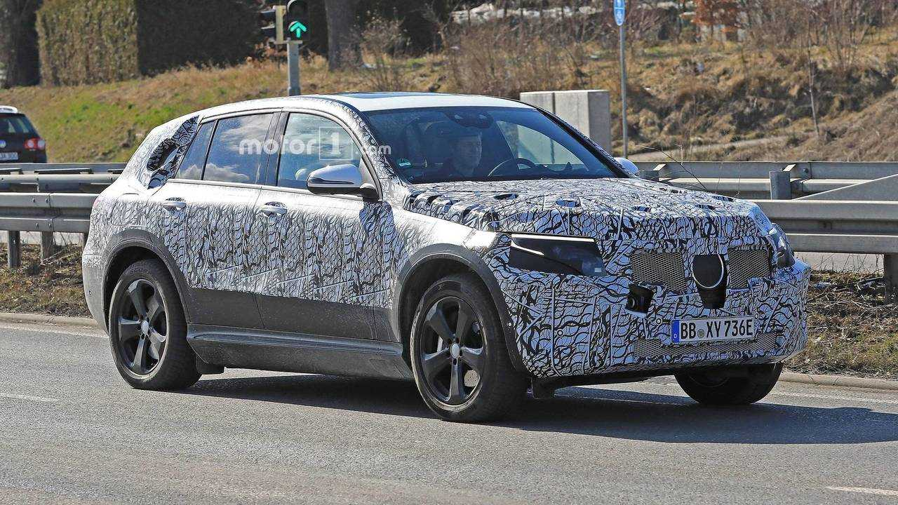 Mercedes-Benz EQ Spy Video - See Electric Crossover Up Close