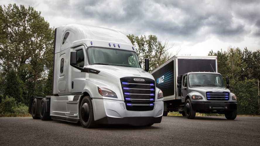 Freightliner To Produce Electric Trucks In Portland In 2021