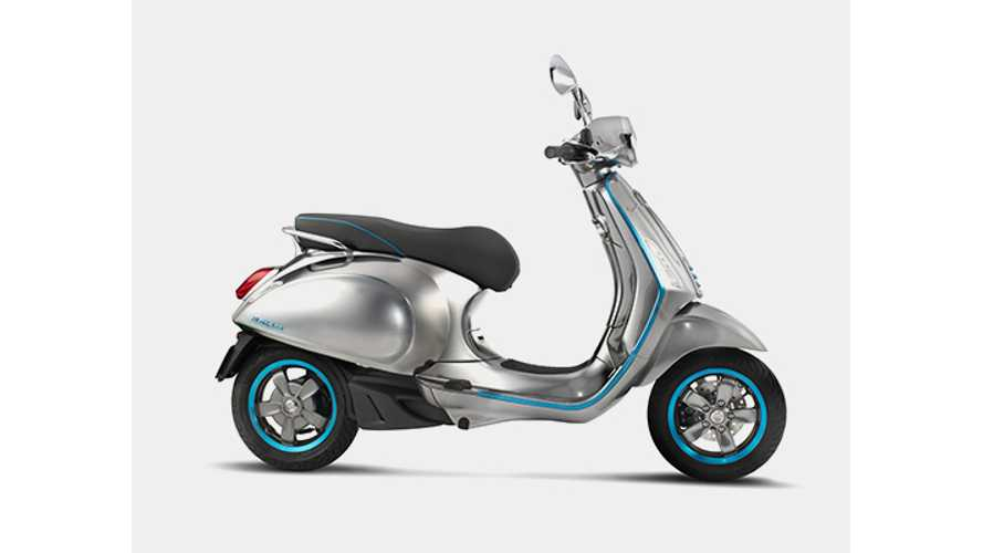 Iconic Vespa Scooter Goes Electric - Videos
