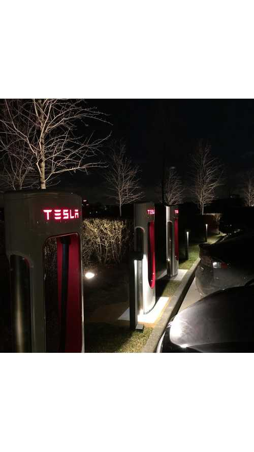 First Tesla Supercharging Station Goes Live, Plus First Model X Registered In Russia