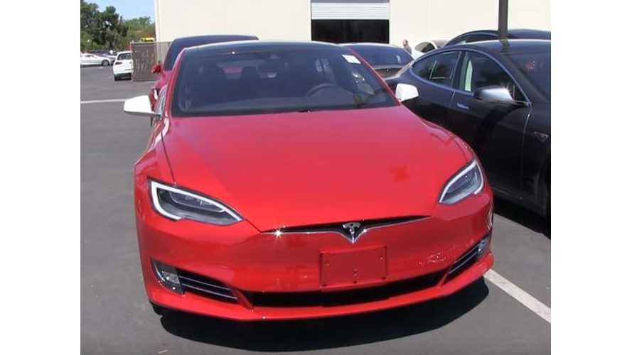 Bjorn Nyland Captures Video Of Facelifted Tesla Model S