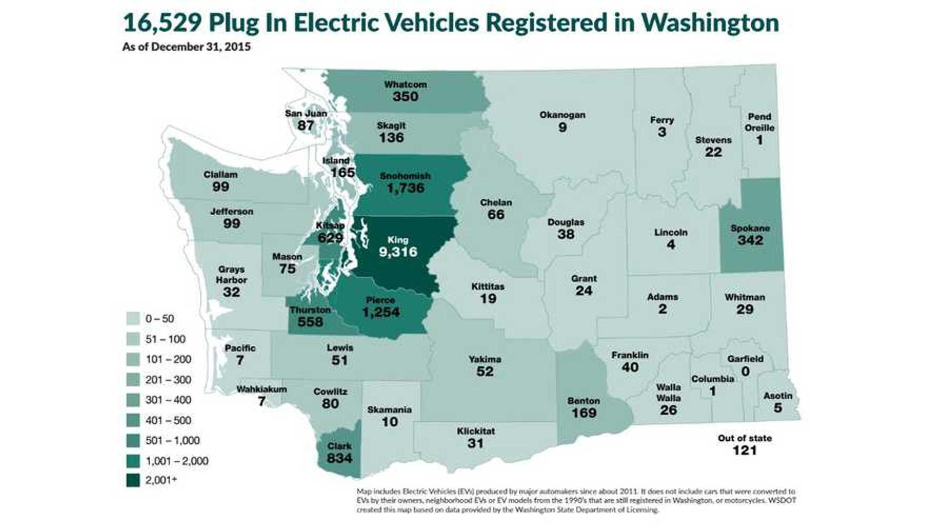 Washington Expands Electric Vehicle Incentive Program S Up To 3 100