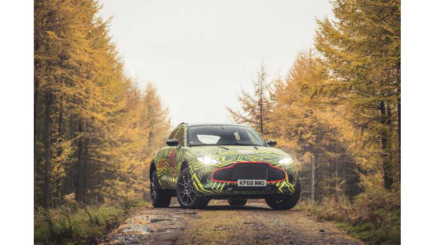 2015 All-Electric Aston Martin DBX Concept Goes With Gas Instead