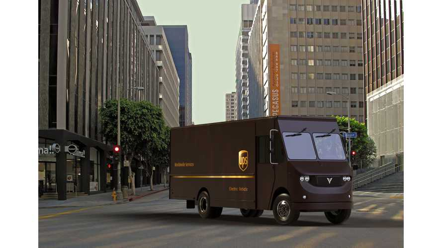 UPS Teams With Thor For Electric Trucks