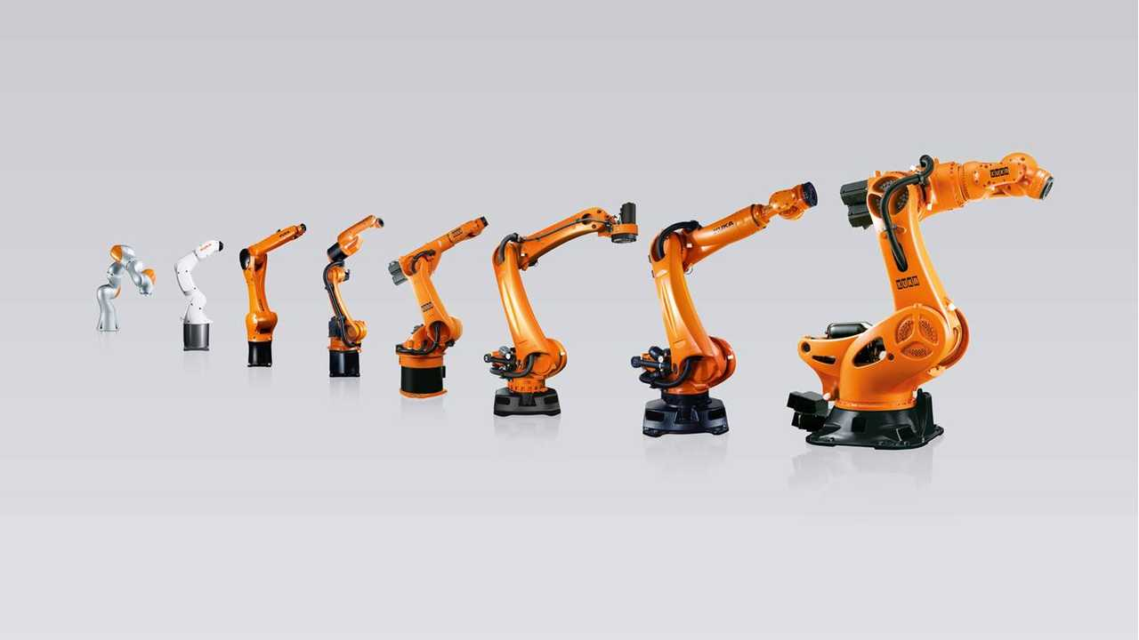 Industrial robots from KUKA