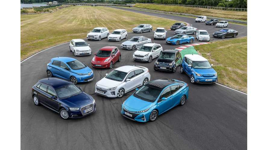 Electric Car Sales Drop In UK As False Consumer Concerns Remain
