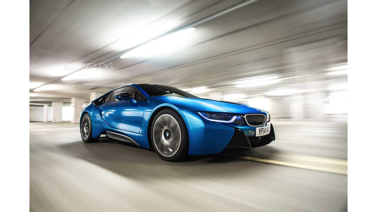Bmw I8 Gets Epa Rating 15 Miles Electric Range 76 Mpge 28 Mpg