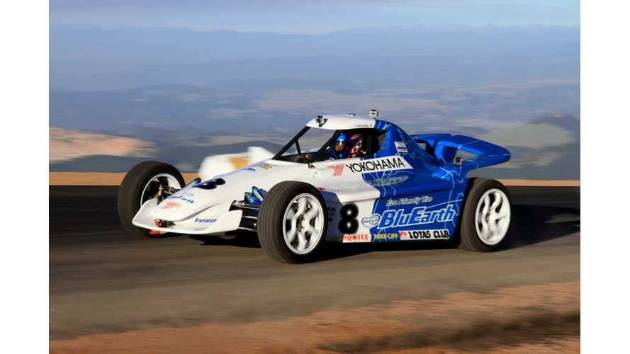 Team Yokohama EV Challenge At Pikes Peak - Video