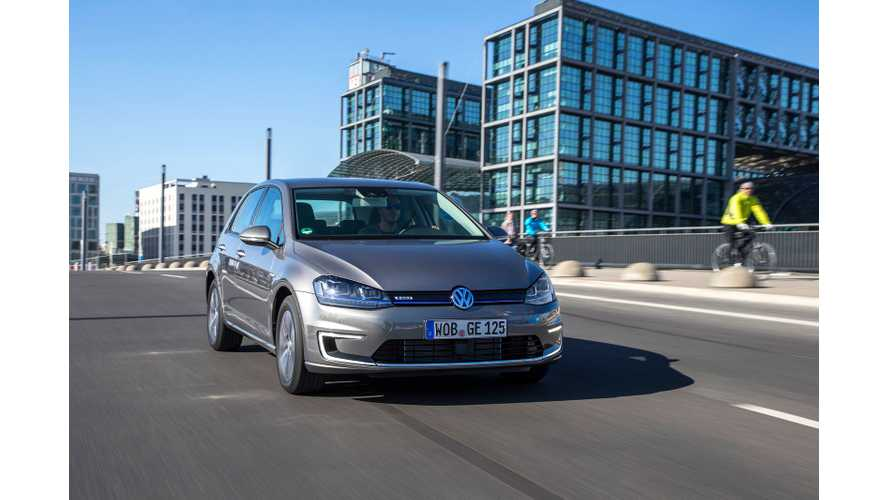 Volkswagen e-Golf First Drive Review From UK