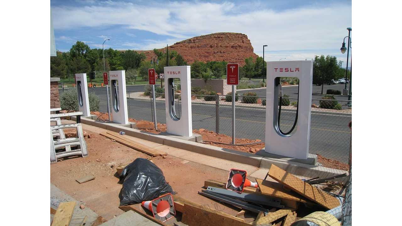 Tesla Supercharging Plan For Europe Grows Deeper - 200 Stations Total