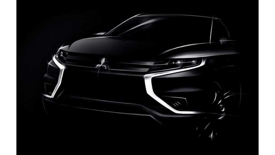 Mitsubishi Outlander PHEV Concept-S To Debut At 2014 Paris Motor Show