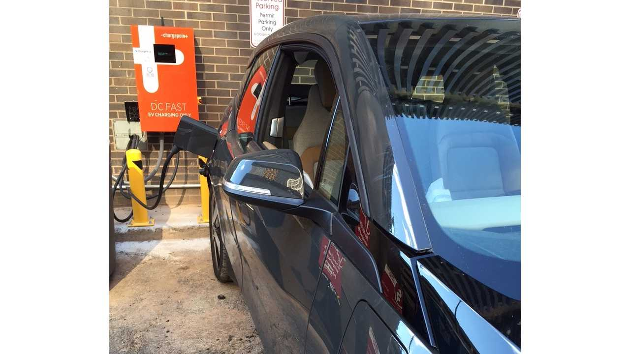 East Coast Gets First DC Charger Along Express Charging Corridor