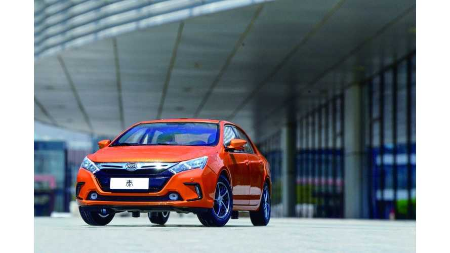 BYD Qin Ranks At Top Of J.D. Power's Quality Study