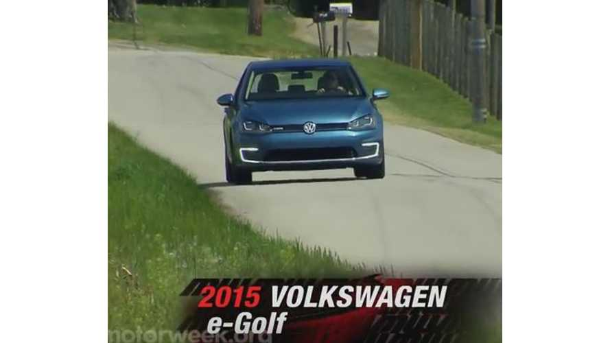 Volkswagen e-Golf - MotorWeek Long-Term Test Drive Update Video