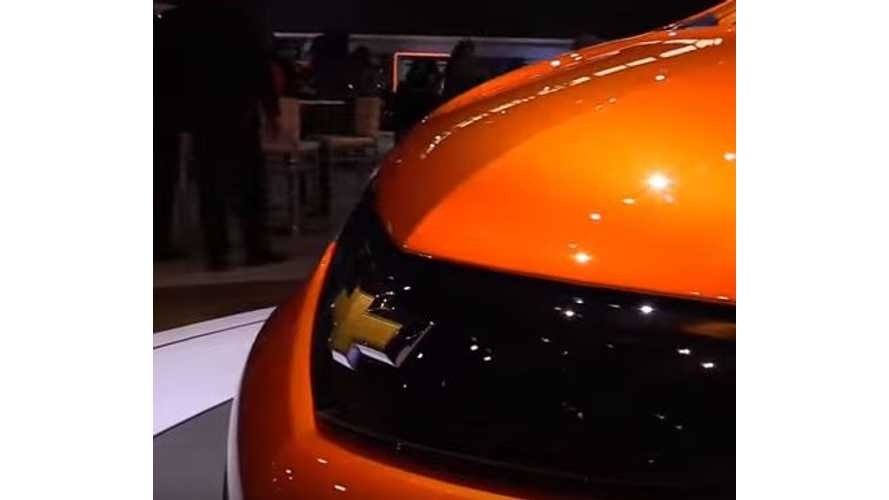 Video Walkaround Of 2017 Chevrolet Bolt At Chicago Auto Show