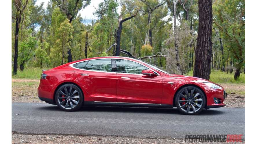 2015 Tesla Model S P90D (Ludicrous) Tested In Australia (w/video)