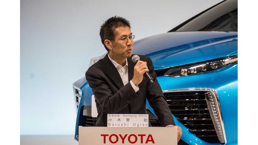Toyota's Ogiso: 155 Mile (250km)* EVs Already Cheaper To Build Than Hybrids