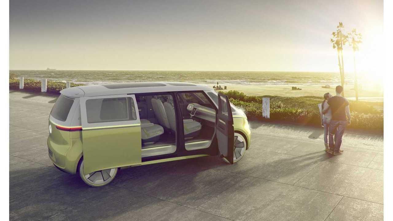 VW ID BUZZ (doors open)