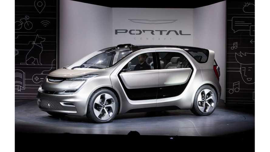 Chrysler Portal Electric Minivan Concept - Photos & Videos From CES 2017