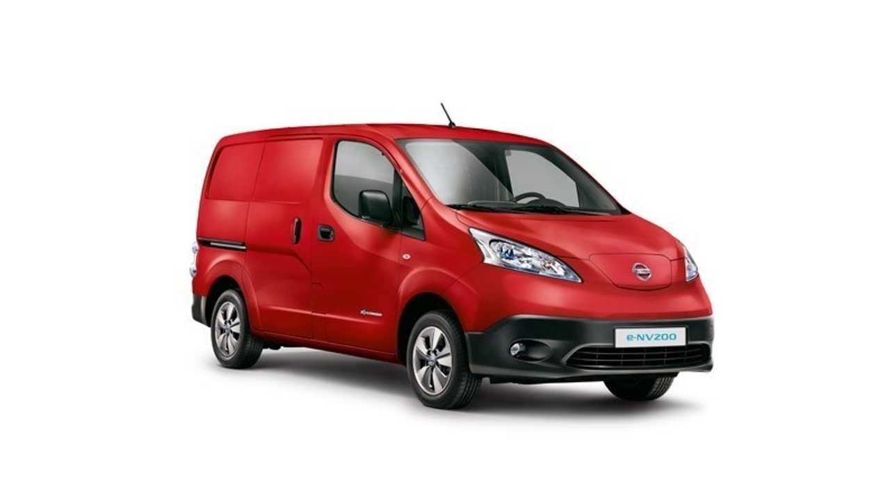 Nissan introduces five year warranty on all electric e-NV200